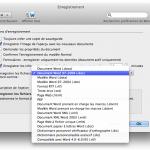 Copie d'écran sous Word Mac